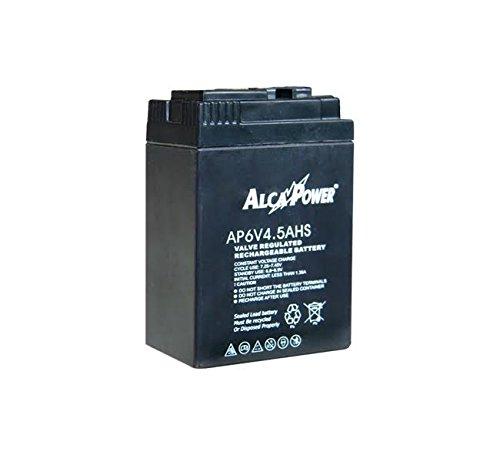 Akku Blei 6V-4,5Ah Akku Dicht passend für Lampen Notfall (z.B. Beghelli 8801, Beghelli 8802), in einige Modelle von UPS und in einige Maschinen Spielzeug