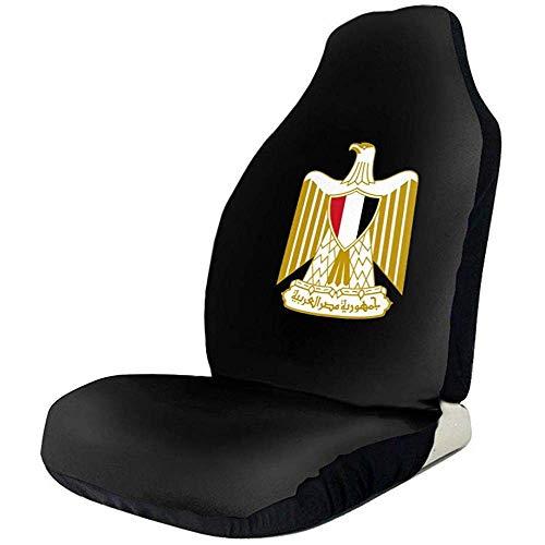 Incluye 2 piezas de la cubierta del asiento delantero, el reposabrazos NO está incluido, puede proteger su asiento interior de la suciedad y los derrames, fácil de instalar y limpiar, se adapta a casi automóviles, camiones, SUV, todos los asientos de...