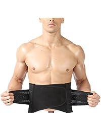 TININNA Transpirable Elástica Reductora Ajustable Faja ,Reductora con Velcro Efecto Adelgazante Faja Moldeadora la Cintura Soporte para mantener la espalda recta y reducir el dolor lumbar(XL)