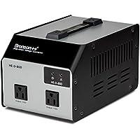 Bronson++ Convertidor de Voltaje HE-D 800 - Salida 110/120 Voltios CA - Transformador de Núcleo Toroidal EEUU de 800 Vatios - 110V 120V 800W Bronson