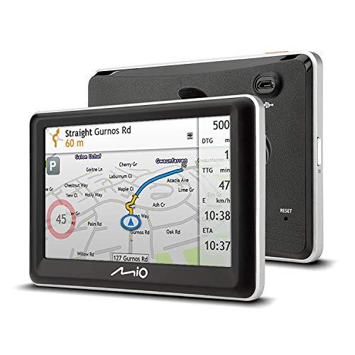 Mio Spirit 7700LM Sat Navigation System mit Lifetime Map Updates und Einparkhilfe Sat Navigation