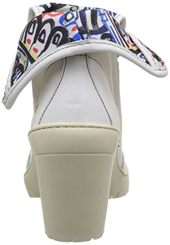 Art - Travel 398, Stivali Donna Bianco (Blanc (White))