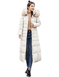 6ed6f9917c513 99native Femmes Hiver Manteau Chaud, dans la Longue Veste en Duvet Femm,  Doudoune épaisse