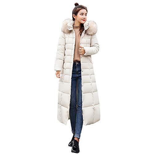 TianWlio Mäntel Frauen Weihnachten Damen Oberbekleidung Pelz Kapuzenmantel Lange Baumwolle Gefütterte Jacken Taschenmäntel