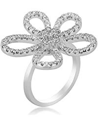 Shaze Floral Tribute Party Fashion Ring for Women/Girls Rings for Women Ring for Girlfriend