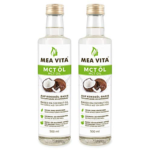 MeaVita MCT Oil, calidad superior, 2 paquete