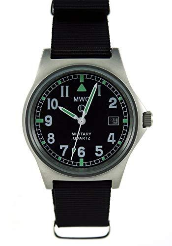MWC G10LM Militär Uhr mit Schwarz Gurt