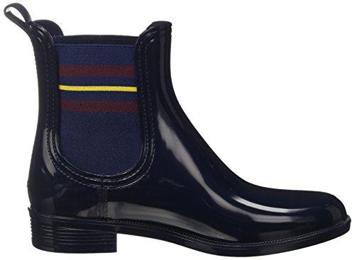 Tommy Hilfiger O1285dette 7r, Bottes Souples Femme Bleu (Tommy Navy 406)
