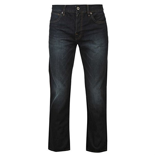 firetrap-mens-rom-jeans-casual-cotton-trousers-pants-slightly-distressed-look-dark-wash-38w-r