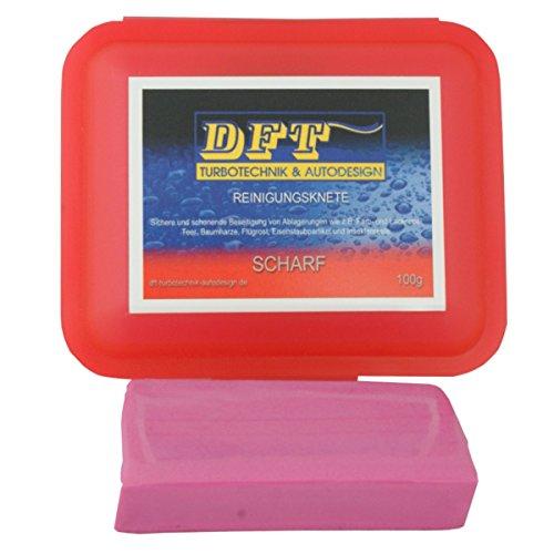 DFT- Reinigungsknete rot scharf 100g