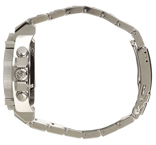 Bulova Men's Designer Chronograph Watch Stainless Steel Bracelet – Blue W/ Yellow Precisionist Wrist Watch 96G175