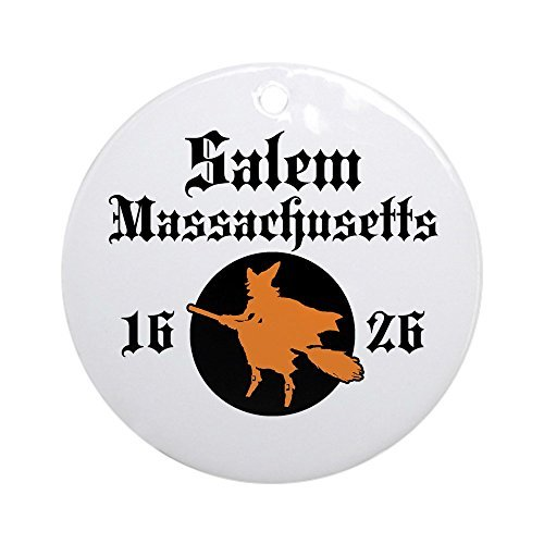 CafePress – Salem Massachusetts Ornament (rund) – Rund Urlaub Weihnachten Ornament
