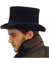 Nuevo mejor calidad sombrero de copa negro marrón verde púrpura gris 57cm 58cm 59cm 60cm 61cm, 62cm)