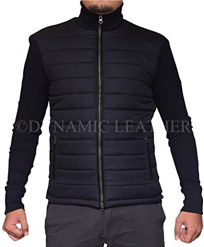 James Bond Spectre Bomber giacca - Daniel Craig Blu Austria Dark Navy Blue Large
