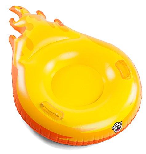 BigMouth Inc Big Mouth Snow Tube Fireball, Mehrfarbig (Schlitten Und Snow-tubes)