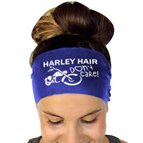 Stirnband, HARRYSTORE Damenbriefe Gedruckt Sport Yoga Schweißband Gym Stretch Haar Band (Kostüm Kleinkind Katze Diy)