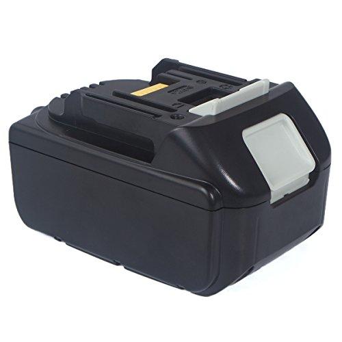 FLAGPOWER 18V 5,0Ah Li-ion Ersatz Akku für Makita BL1850 BL1840 BL1830 BL1820 BL1815 BL1835 194204-5 194205-3 194309-1 LXT400 Werkzeugakkus