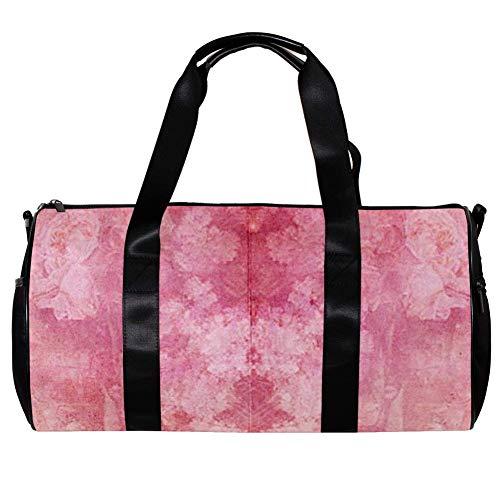 Veckgeng Große Sporttaschen für Männer und Frauen Tasche Sport Reißverschluss Geschenk Damen Sport Duffle Bag Scrapbook 17.7x9 x 9