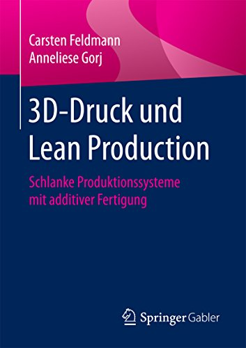 3D-Druck und Lean Production: Schlanke Produktionssysteme mit additiver Fertigung (Control Druck)