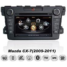 REALMEDIA Mazda CX-7 Bose Sound OEM Einbau Touchscreen Autoradio DVD Player MP3 MPE4 USB