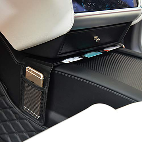 Almacenamiento para tarjetas y soporte para el móvil para Teslas modelos S y modelos X