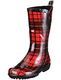 Be Only Botte Color Hiver Rouge Botte Color Hiver Rouge - Botas De Caucho Para Niños, Color Rojo, Talla 22