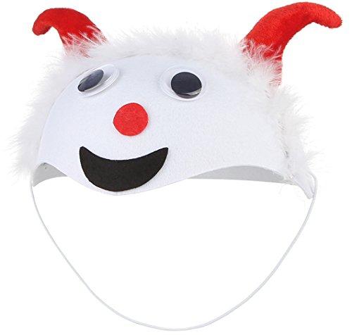 Eozy Halloween Kinder Tiermütze Cartoon Hut Party Kostüm Ziege