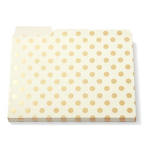 kate-spade-gold-foil-dots-cartelle-set-di-6-by-kate-spade-new-york