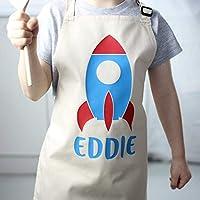 Personalised Rocket Apron - Kids Apron - Child