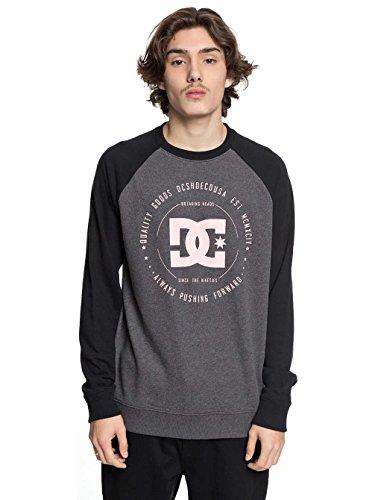 DC Shoes Rebuilt - Sweatshirt für Männer EDYSF03106 black/charcoal heather