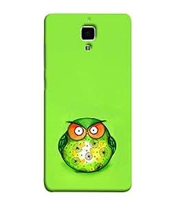 PrintVisa Owl Brwon Bark 3D Hard Polycarbonate Designer Back Case Cover for Xiaomi Redmi Mi 4 :: Redmi Mi 4