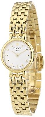 Tissot LOVELY T0580093303100 - Reloj de mujer de cuarzo, correa de acero inoxidable color oro