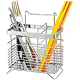 #10: Bridge2Shopping Stainless Steel Hanging Utensil Drying Rack ,Rectangle Shape