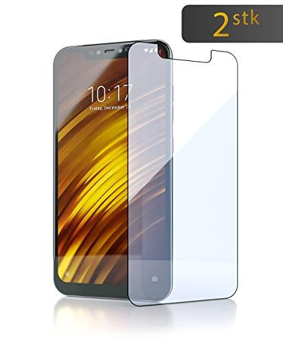 Xiaomi Pocophone F1 Cristal Templado [2X] | extremadamente