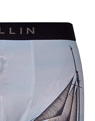 Pull-In Boxer-Shorts Masuni Schwarz-weiß Haddock