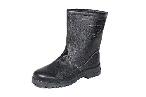 HERKULES Sicherheits-Stiefel I Arbeits-Schuhe I Warme Winterstiefel S3 I Hoch, Groesse:41 EU