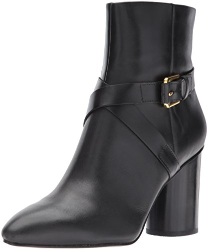 Nine West Damen Cavanagh Stiefel, Schwarz (Black), 39 EU (Leder Pointy Schwarz Toe)