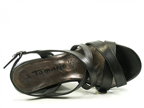 Tamaris 1-28343-28 Sandali donna Schwarz