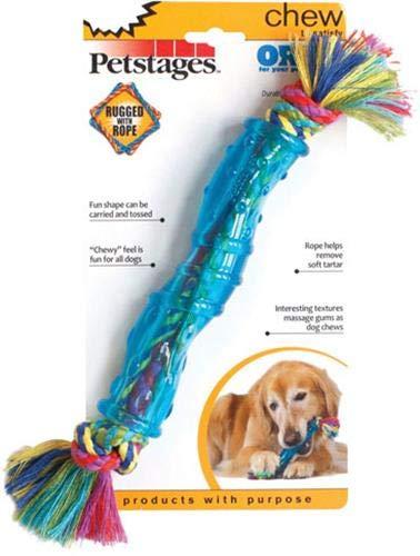Petstages #220Ble Giocattolo da Masticare per Cani, L, Blu