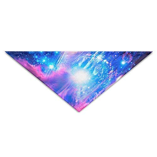 Gxdchfj Magnificent Outspace Triangle Pet Scarf Dog Bandana Pet Collars for Dog Cat - Birthday Bandana Bibs Triangle Head Scarfs Accessories