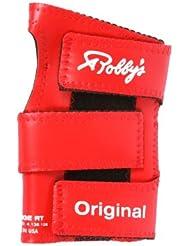 Robby's Vinyl Original Left Wrist Support - Guante de bolos, color rojo, talla Petite