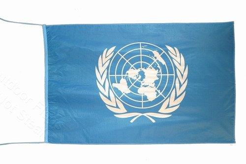 UNITED NATIONS FAHNE FLAGGE 2.5x5 ft 150 x 75 cm - United Nations-flag
