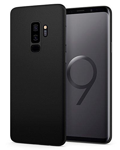 Spigen 593CS22954 Air Skin für Samsung Galaxy S9 Plus Hülle, Ultradünn Handyhülle Lichtdurchlässig Semi-Transparent Schutzhülle Case (Schwarz) Galaxy Skin