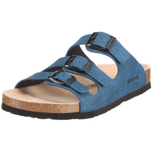 Dr. Brinkmann 700450, Damen Pantoletten, Blau (Marine), 38 EU