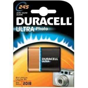 DURACELL Fotobatterie Ultra Photo 245 Duracell 6v Lithium Photo Batterie