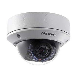 Hikvision 2 MP WDR HD 1080P Vari-Focal CCTV Dome Network IP Camera- White