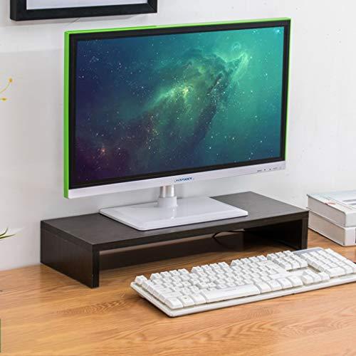 Speicher-rack-ständer (KKCD Monitor-Ständer Multimedia-Desktop-Ständer Büro-Desktop-Computer Riser-Ständer Desktop-Speicher-Rack-Pad Hohe Bildschirmregal-Anzeigen-Basishalterung (Farbe : A))