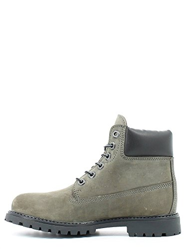 Lumberjack River, Baskets Hautes Femme Gris - antracite/black