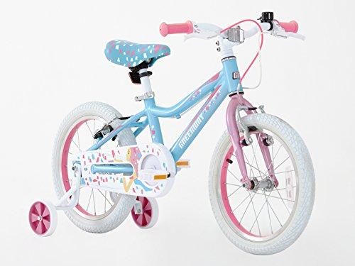 Greenway - Bicicleta con ruedines, para niña,...