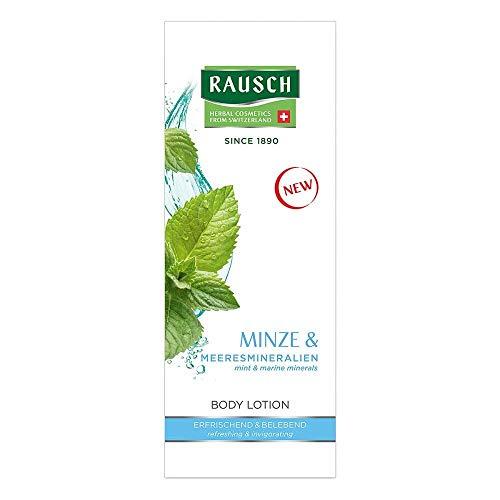 Rausch Minze BODY LOTION schenkt der Haut pure Frische und Pflege mit hochwertigen Extrakten, 1er Pack(1 x 200 milliliters)